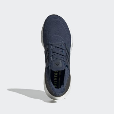 Sapatos Ultraboost 21 Azul Homem Running