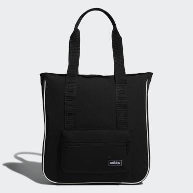 Women Sport Inspired Black Classic Tote Bag