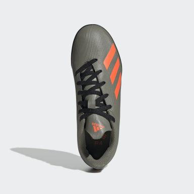Zapatos de Fútbol X 19.4 Césped Artificial Verde Niño Fútbol