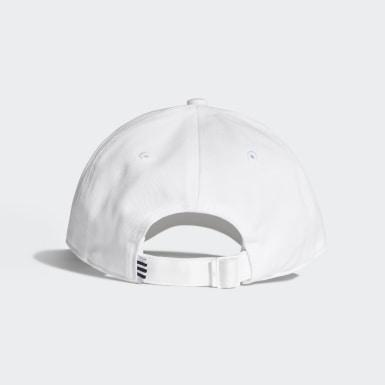 Boné Beisebol Trefoil Branco Originals