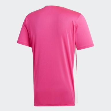 Camisa Entrada18 Rosa Homem Futebol