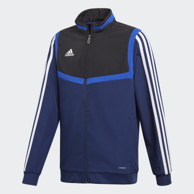 Kids Training Blue Tiro 19 Presentation Track Top