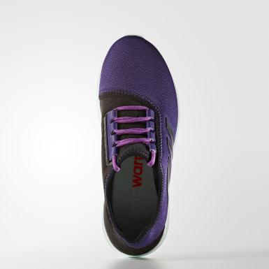 фиолетовый Кроссовки для бега Climawarm Oscillate