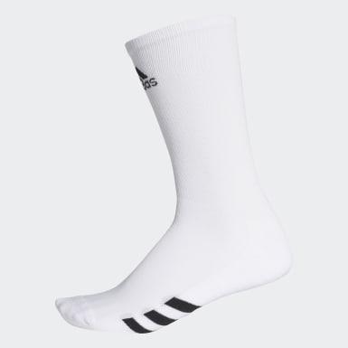 Männer Golf Golf Crew Socken, 3 Paar Weiß