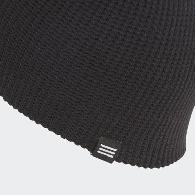 черный Двухсторонняя шапка