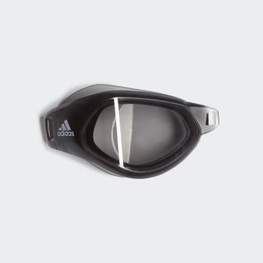 Plávanie Siva Pravá šošovka plaveckých okuliarov Persistar Fit Optical Goggle