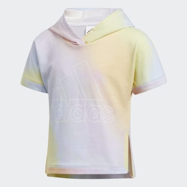 Children Training Blue Iridescence Hoodie