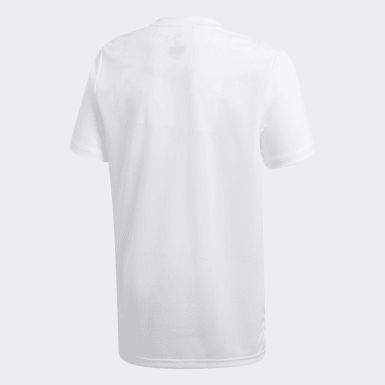 Camiseta entrenamiento Condivo 18 Blanco Niño Training