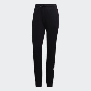 ผู้หญิง ไลฟ์สไตล์ สีดำ กางเกงขายาว Essentials Linear
