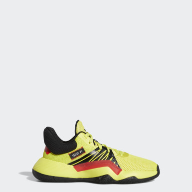 Tenis D.O.N. Issue #1 (UNISEX) Amarillo Niño Basketball