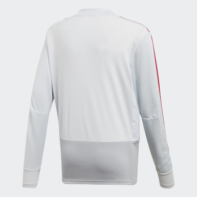 Training Top Manchester United Gris Enfants Football