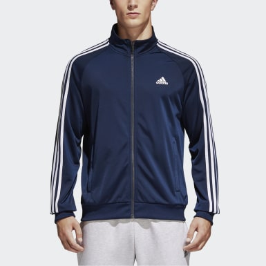 Men's Athletics Blue Essentials Track Jacket