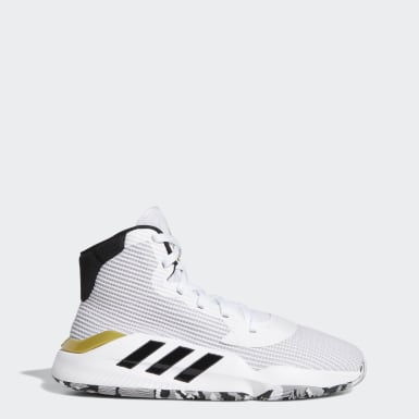 Men's Basketball White Pro Bounce 2019 Shoes