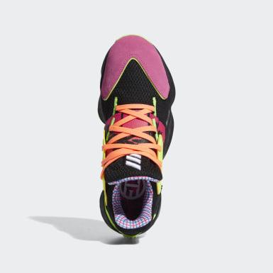 Kvinder Basketball Sort Harden Vol. 4 sko