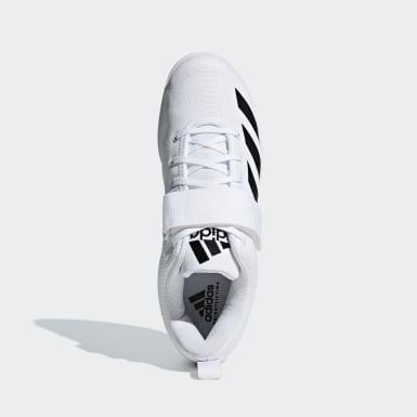Chaussure Powerlift 4 blanc Haltérophilie