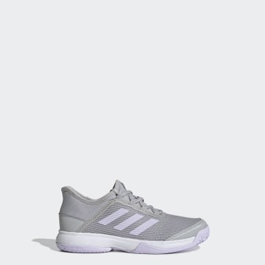 Children Tennis Grey Adizero Club Shoes