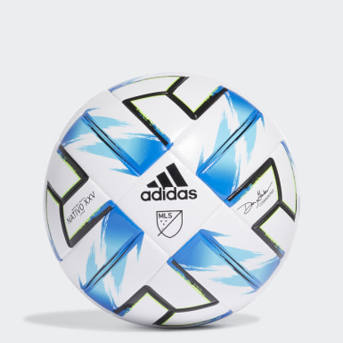 Men's Soccer White MLS Nativo XXV League Ball