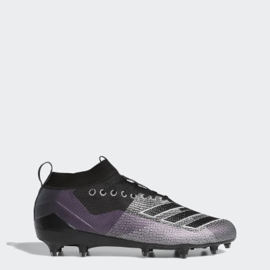 Men's Football Black Adizero 8.0 Cleats