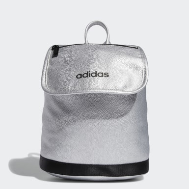 Training Grey PU Suede Mini Backpack