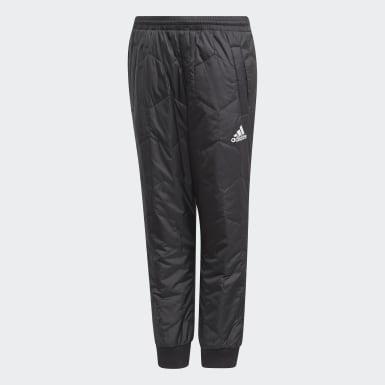 черный Утепленные брюки