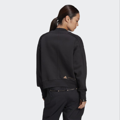 Sweat-shirt Noir Femmes adidas by Stella McCartney