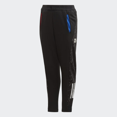 Boys Training Black Star Wars Pants