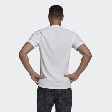 T-SHIRT FREELIFT SOLID TENNIS HEAT.RDY Bianco Uomo Tennis
