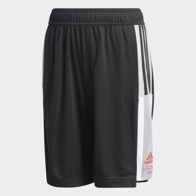 Youth Training Black Bold AEROREADY Shorts