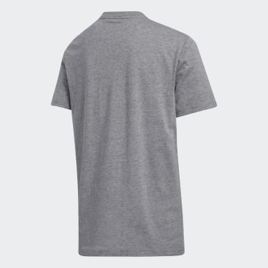 Youth Training Grey Heathered Turf Tee