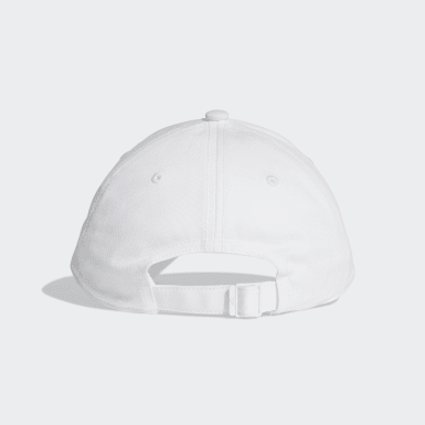Training White Six-Panel Classic 3-Stripes Cap
