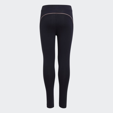 Tight Cotton Bleu Filles Training