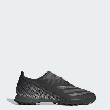 Men's Soccer Black X Ghosted.3 Turf Soccer Shoes