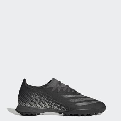 Zapatos de fútbol X Ghosted.3 Pasto Sintético Negro Hombre Fútbol
