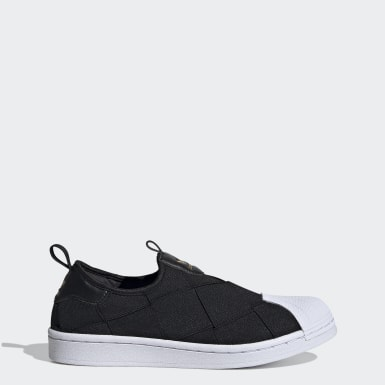 Women's Originals Black Superstar Slip-on Shoes