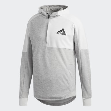 Men Athletics Grey Team Issue Hoodie