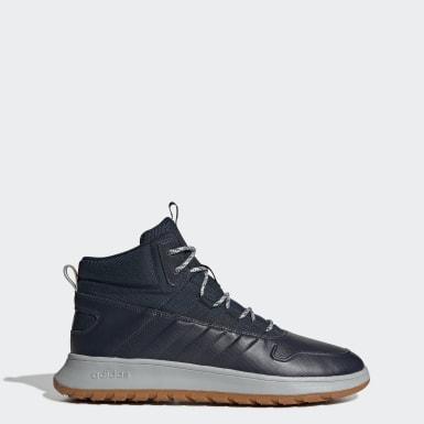 синий Зимние ботинки Fusion