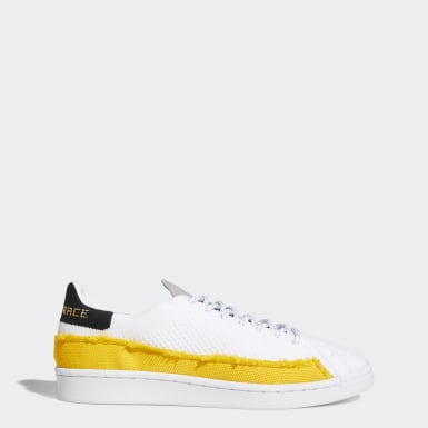 Pharrell Williams Superstar Shoes Bialy
