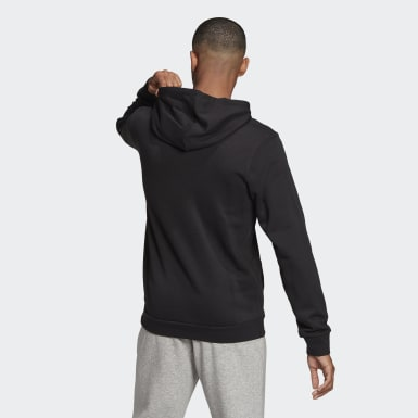 Herr Athletics Svart Essentials Camouflage Hoodie