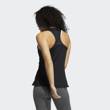 Women's Yoga Black Game Mode Training Tank Top