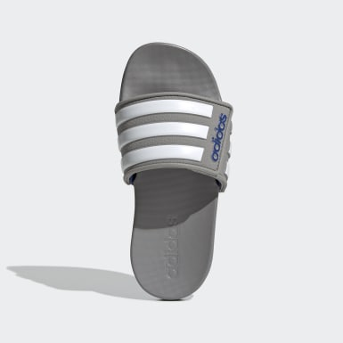 Children Swimming Grey Adilette Comfort Adjustable Slides