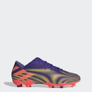 Men's Soccer Purple Nemeziz .2 Firm Ground Cleats