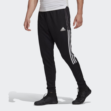 Men's Soccer Black Tiro 21 Track Pants