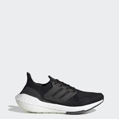 Kadın Koşu Siyah Ultraboost 21 Ayakkabı