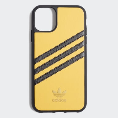 Coque Samba Molded iPhone 11 jaune Originals