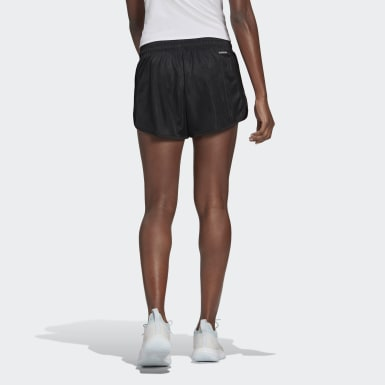 Women Tennis Black Club Tennis Shorts