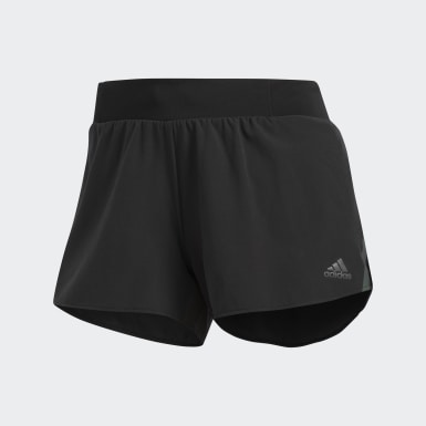 Women Running Black Supernova Saturday Shorts