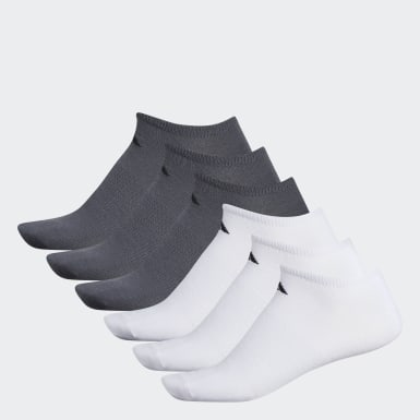 Men's Training White Superlite Ankle Socks 6 Pairs