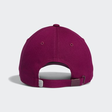 Dam Golf Lila 3-Stripes Heart Hat