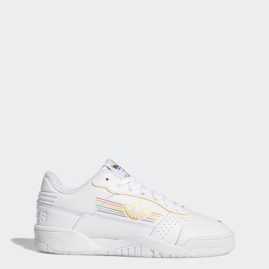 Men Originals White Carrera Low Pride Shoes