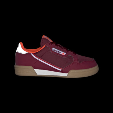 Kinder Originals Continental 80 Schuh Weinrot